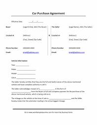 Agreement Of Sale Vehicle Magdalene Project Org