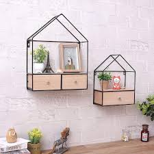 corner closet shelves creative iron wood living room bedroom wall triangle closet drawer storage cabinet router