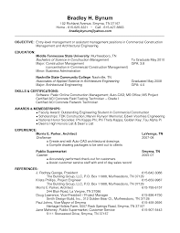 Awesome Collection Of Construction Job Resume Objective Creative