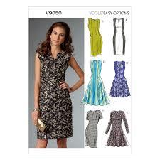 Vogue Patterns Dresses Beauteous Amazon Vogue Patterns V48 Misses'Misses' Petite Dress Sewing