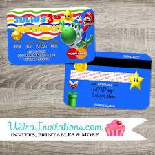 Credit Card Party Invitations Pocoyo Birthday Invitations Eyerunforpob Org