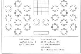 wedding reception table layout template tool free seating plan planner round chart