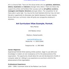 sample artist resume cover letter enchanting artist resume example resume sample artist resume artist resume objective