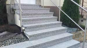 Die von uns angebotenen granitplatten können z. Aussentreppe Aus Granit Beton Naturstein Waschbeton Wagner Treppenbau Mainleus