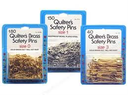 Safety Pins – Find the Right Type and Size -- CreateForLess & Collins Safety Pins. Quilters ... Adamdwight.com