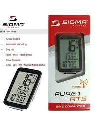 sigma bike puter manual wheel size