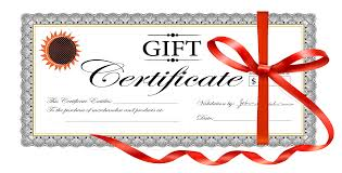 gift card certificate template gift card certificate template 61