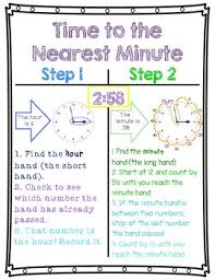 Measurement Of Time Chart Measurement Of Time Anchor Charts