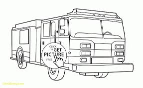 Fire Truck Coloring Pages For Kids Printable Coloring Page For Kids