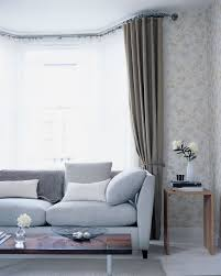 how to hang eyelet curtains on a bay window curtain how to hang net curtains in