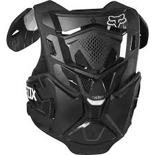 Fox Airframe Size Chart Fox Chest Protector Airframe Pro Black
