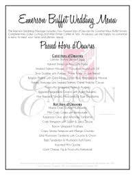Wedding Dinner Menu Template Fill Print Download Online Samples