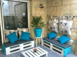 pallets garden furniture. Patio Furniture Made Out Of Pallets Garden On The Terrace Pillows Cushions