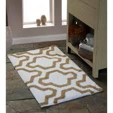 saffron fabs 2 piece bath rug set 100 soft cotton size 24x17 inch