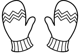 Small Picture Winter Clothes Mittens Coloring Pages Winter Clothes Mittens