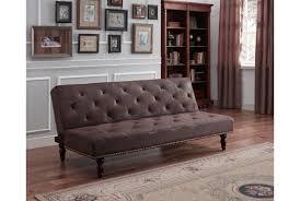 brown leather sofa bed. Brown Leather Sofa Bed E
