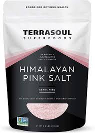 Amazon.co.jp: Terrasoul <b>Superfoods Himalayan Pink Salt</b> (Extra ...
