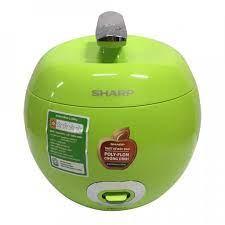 Nồi cơm điện Sharp nồi quả táo KS-A08V-GR