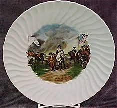 surrender of cornwallis plate john