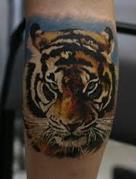 тигр тату фото