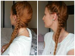 Tresse Africaine Sur Le C T French Braid Side Hair Tresse