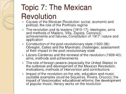 ib history internal assessment william j tolley  and foreign policies 18 topic 7 the mexican revolution