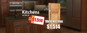 10x10 kitchen cabinets