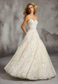 Designer Bridal Gowns With Sleeves Lisa Wedding Dress Morilee