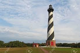 Hatteras Light Diagonal Black And White Stripes Mark The Cape Hatteras Lighthouse