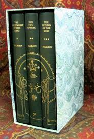 001315 the lord of the rings 1st us edition 1st impressions custom full leather fine binding with slipcase 5 000 00