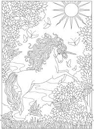 wele to dover publications from creative haven unicorns coloring book