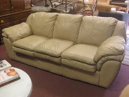 tan leather couch. SOLD - Tan Leather Sofa $250 Couch
