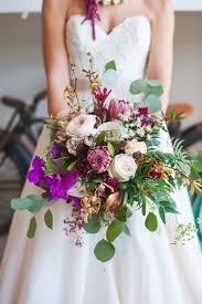 garden bouquet. Garden-style Colorful Bouquet | Protea And Orchid Naperville Wedding Florist Garden D