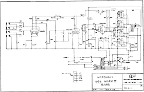 marshall jcm800 super bass clone drtube com schematics marshall 1992mk2u gif