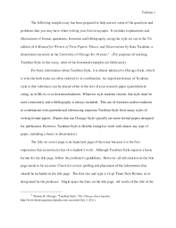 turabian example paper footnotes sample paper austin peay stat  turbian 1 the following sample essay has been prepared to help answer some of the questions turbian 2 paper