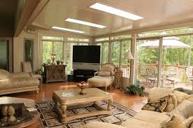 Sunroom With Fireplace Designs Best Furniture For Sunrooms Fireplace Room Decors And Design
