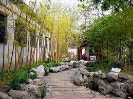 Small Picture Outdoor Chinese Garden Design Bamboo And Stone Chinese Garden