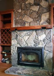 Stone fireplaces, Rumford, culture stone, veneer stone, natural stone  fireplaces