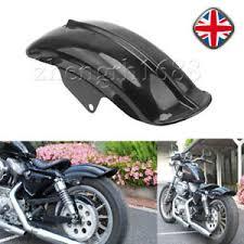 black rear fender mudguard plastic for harley sportster bobber
