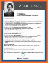Resume Template 2016 Best 60 Cv Template 600 Theorynpractice