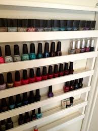 nail polish organizer ideas you ll want to copy