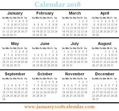 blank 2018 calendars free blank printable calendar 2018 january 2018 calendar