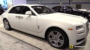 rolls royce ghost white 2015. 2015 rollsroyce ghost series ii exterior and interior walkaround chicago auto show youtube rolls royce white