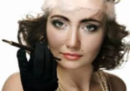roaring 20 s hairstyles for long hair simple 1920s makeup and styles