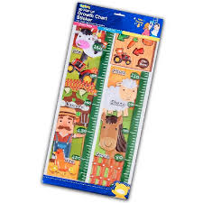 Farm Growth Chart Pop Up Growth Chart Sticker Farm Toybies Bm