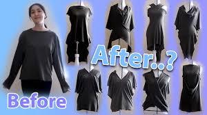 Cool Cut Up Shirt Designs 18 Ways To Transform A Long Sleeve T Shirt Morph Slash Method