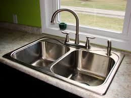 how to install kitchen sink with sprayer in granite countertop