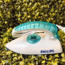 Siêu Hot] Bàn ủi mini du lịch philips cao cấp, thiết kế nhỏ gọn điều chỉnh  nhiệt độ dễ dàng không hư hại vải