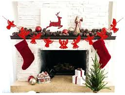 paper fireplace decoration set lovely red paper angel garland for decoration construction paper fireplace wall decoration
