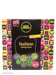"<b>Набор</b> для создания ожерелья""Дольки лайм"" NEON <b>Daisy Design</b> ..."